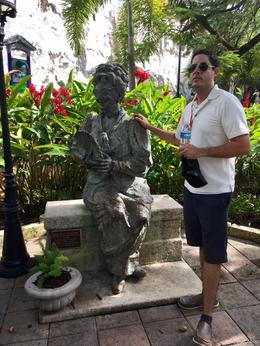 Statue of Dona Fela in Palaca de Princessa in Old San Juan , cglanzer - November 2016