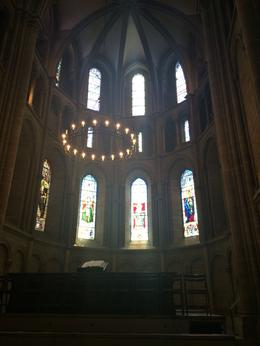 cathedral in medieval Geneva , Nily S - March 2017