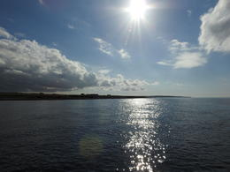 Returning from the Orkney Islands to John O'Groats - beautiful day we had , Candyce C - October 2017