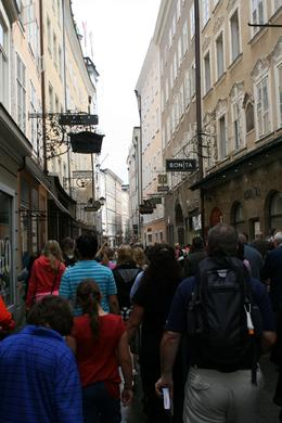 This gives a good picture of the streets of Salzburg. Very beautiful. - July 2009
