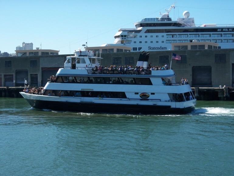 Alcatraz boat - San Francisco