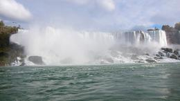 "The photo was taken on the boat from the ""Maid of the Mist"" , cazofeifacr - November 2012"