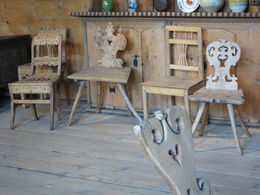 Interesting collection of handmade chairs , Patricia - January 2016