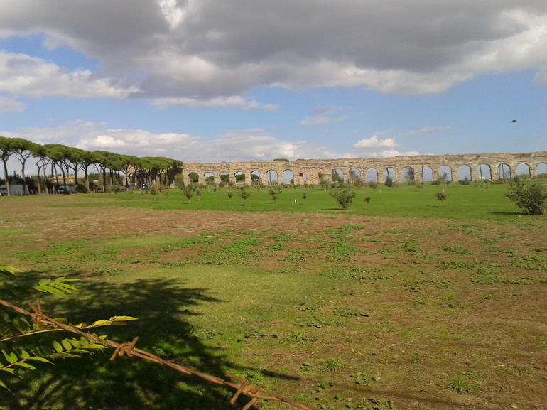 Ancient Appian Way, Catacombs and Roman Aqueducts Electric-Assist Bicycle Tour photo 34