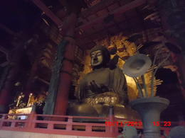 Big bronze Buddha in Japan. Nara Daibutsu, Nara Big Buddha. Constructed 752 AD , Donald S - November 2013