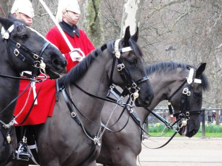 Changing of the Guard - Mounted - London