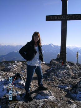 Great view of Salzburg from up here!!!! , Julia A - October 2011