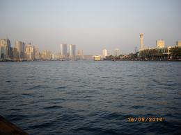 "View whilst crossing Dubai ""Creek"" on our way to spice and gold souks, Penny S of Adelaide - October 2010"