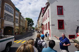 Our tour group on Rue Saint-Louis in the upper city. , Scott P - June 2016