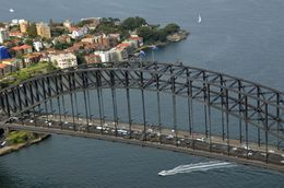 Sydney Harbour Bridge , Jill - April 2015