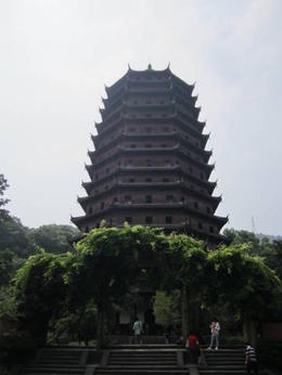 Famous pagoda in Hangzhou. There is a romantic story behind it!, Julie - June 2012