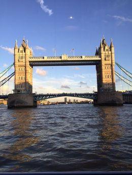 London Bridge is falling down view from River Cruise , NAZEERA N - November 2015