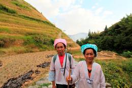 Locals in Longji Rice Terraces - May 2012