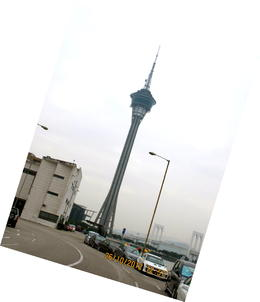The Macau Tower, with the world's highest bungee jump. , ShirLs_B - November 2012
