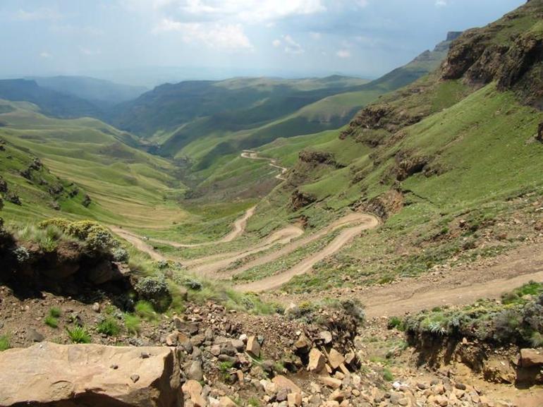 Sani Pass -