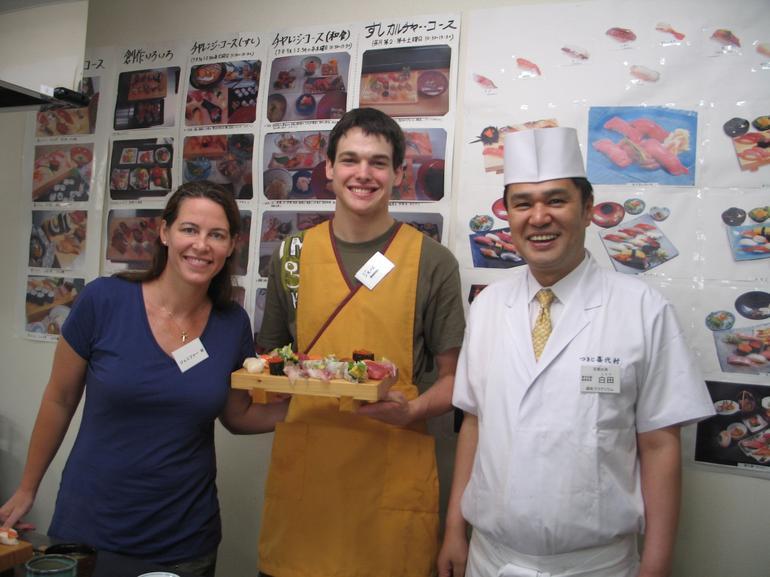 Sensei and students - Tokyo