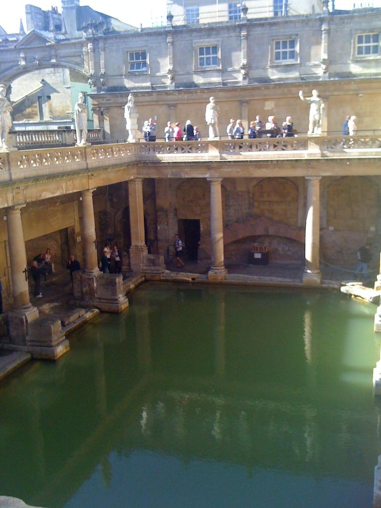 The Roman Baths - London