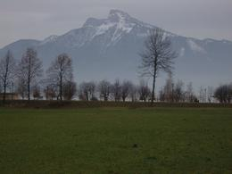 The beautiful view on our short walk into Mondsee from the coach stop, Jan W - January 2010