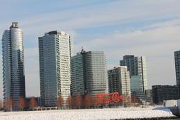 New York vue depuis la rivière Hudson. Grandiose ! , Véronique M - February 2014