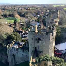 Warwick castle , Elena K - February 2016