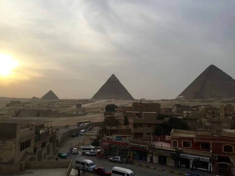 Day Tour Cairo Egyptian Museum Coptic Cairo and Khan El Khalili Bazaar from Giza