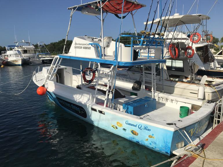 Private Boat Charter Tour in Cozumel photo 13
