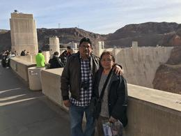 On top Hoover Dam , Adolfo G - December 2017