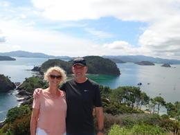 On top of Roberton Island , ewan m - February 2018