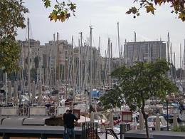 The port in Barceolna - May 2008