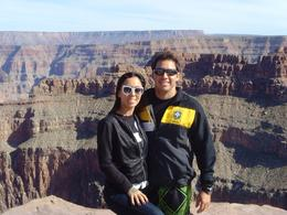 Glau & Renato, Grand Canyon, Glaucia S - November 2010
