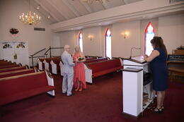 Me, my wife, and the minister are in this photo. , waykow - July 2013