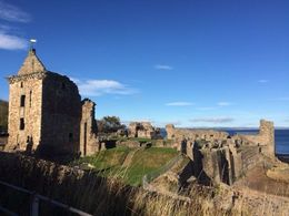 St Andrews Castle, Tyler - October 2015
