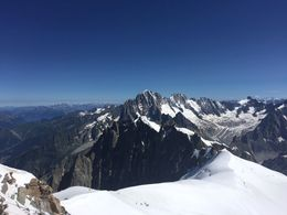 Mont Blanc from 3840 Feets , Lynn D - August 2016