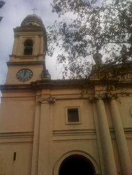 Side of a church in another plaza in Montevideo., Bandit - June 2012