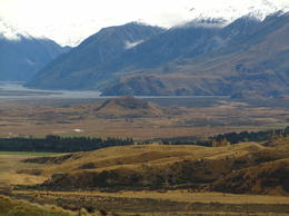 Approaching Mt Sunday / Edoras under the mountains , Raymond R - June 2013