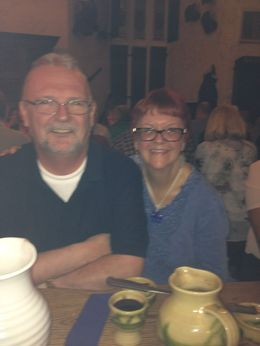 Olly and Beth Bunratty Castle Medieval Banquet , Beth C - September 2015