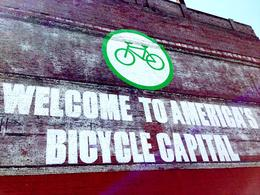 You can almost believe that Portland is America's bike capital. , Rusty - June 2013