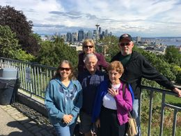 Pam, Charlie, Me, Dad and Joyce , miffinslee - May 2016