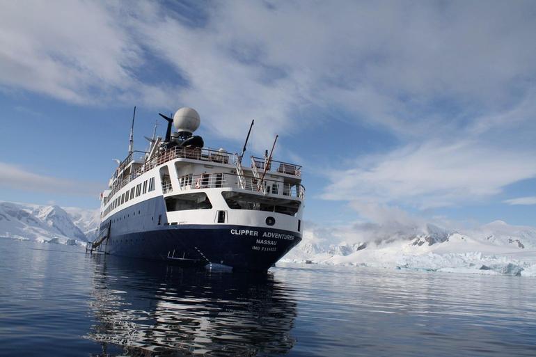 Ship - Antarctica