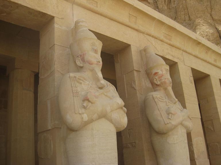 Statues of Hatshepsut - Luxor