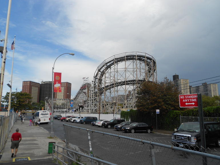 The Cyclone @ Coney Island - Brooklyn