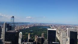 Picture from the upper deck of the Top of the Rock , ThanatosBg - August 2016