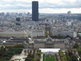 Blick vom Eiffelturm , Erich W - November 2013