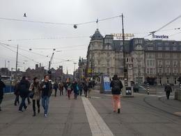On way to Damrak Street from Amsterdam Centraal , Sangeeta K - April 2014