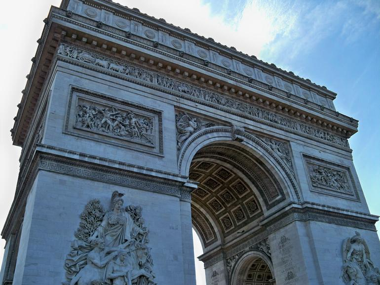 Arc de Triomphe - London