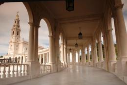 Beautiful sanctuary, the Fatima in Portugal - November 2011
