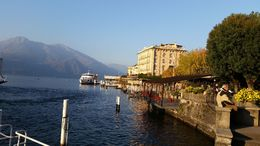 Stopped for lunch and shopping in this beautiful town on Lake Como , Philip H - November 2015