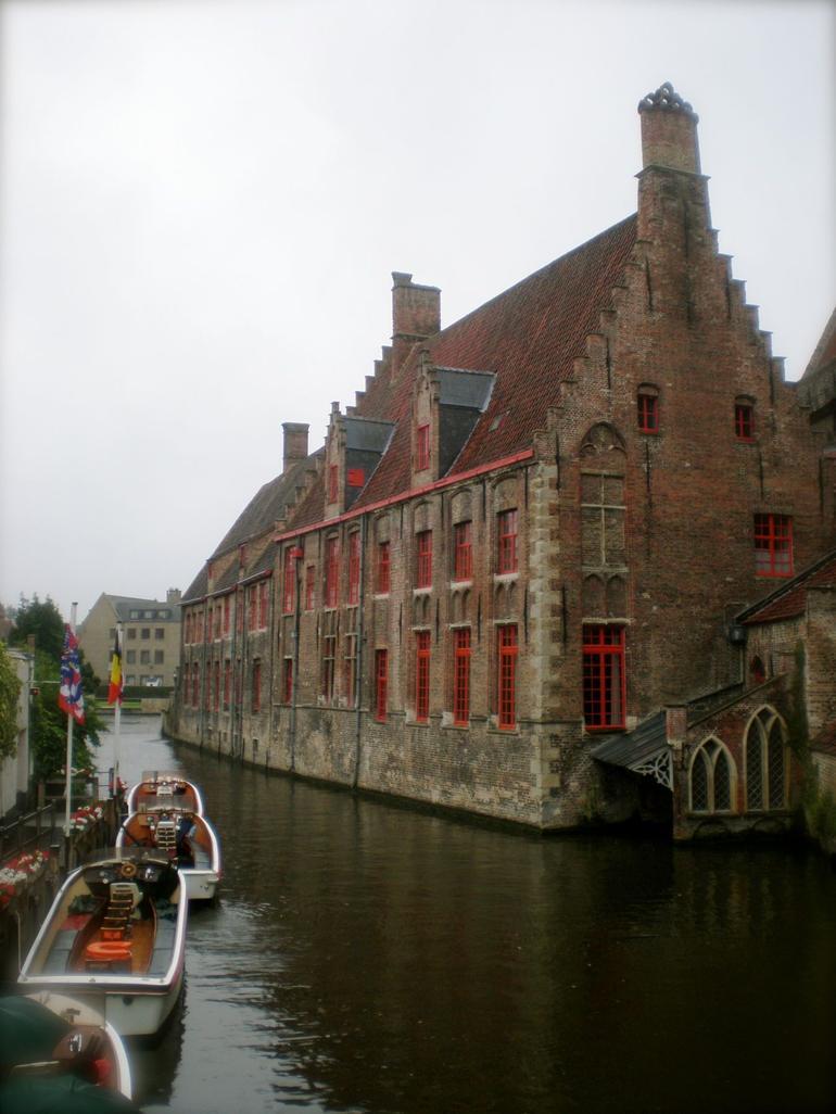 Boat Trip Scene at Bruges - Brussels