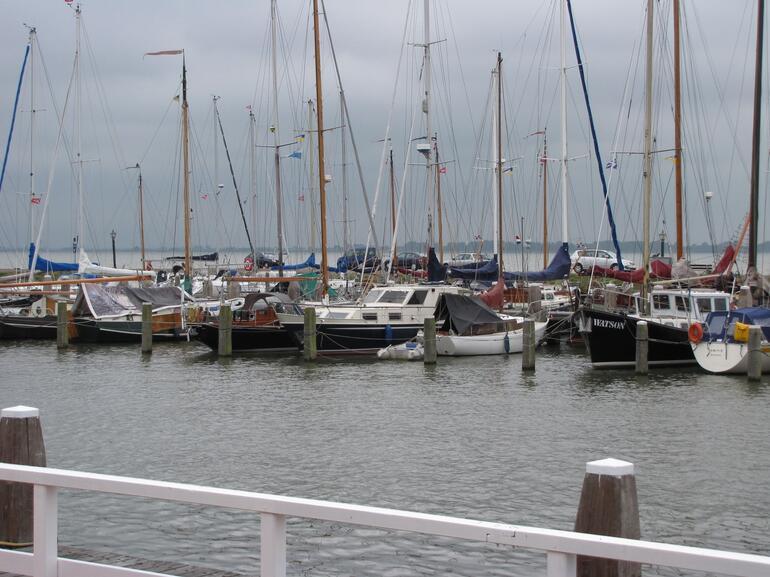 Boats in Marken - Amsterdam