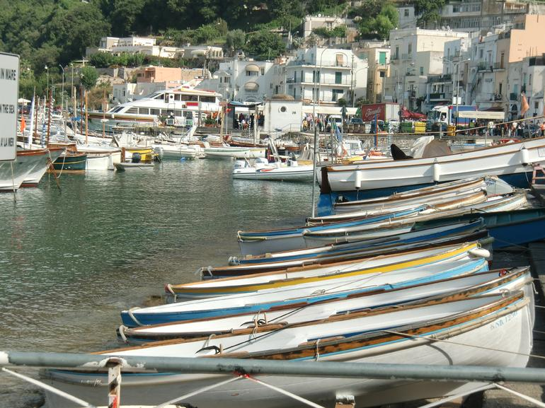 Boats of the Locals -Capri - Naples
